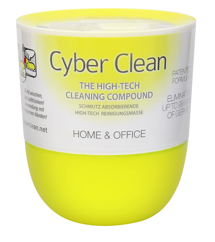 Cyber Clean, coppetta Pop-up di Gomma pulente per casa e Ufficio, plastica, Colore Giallo 1134