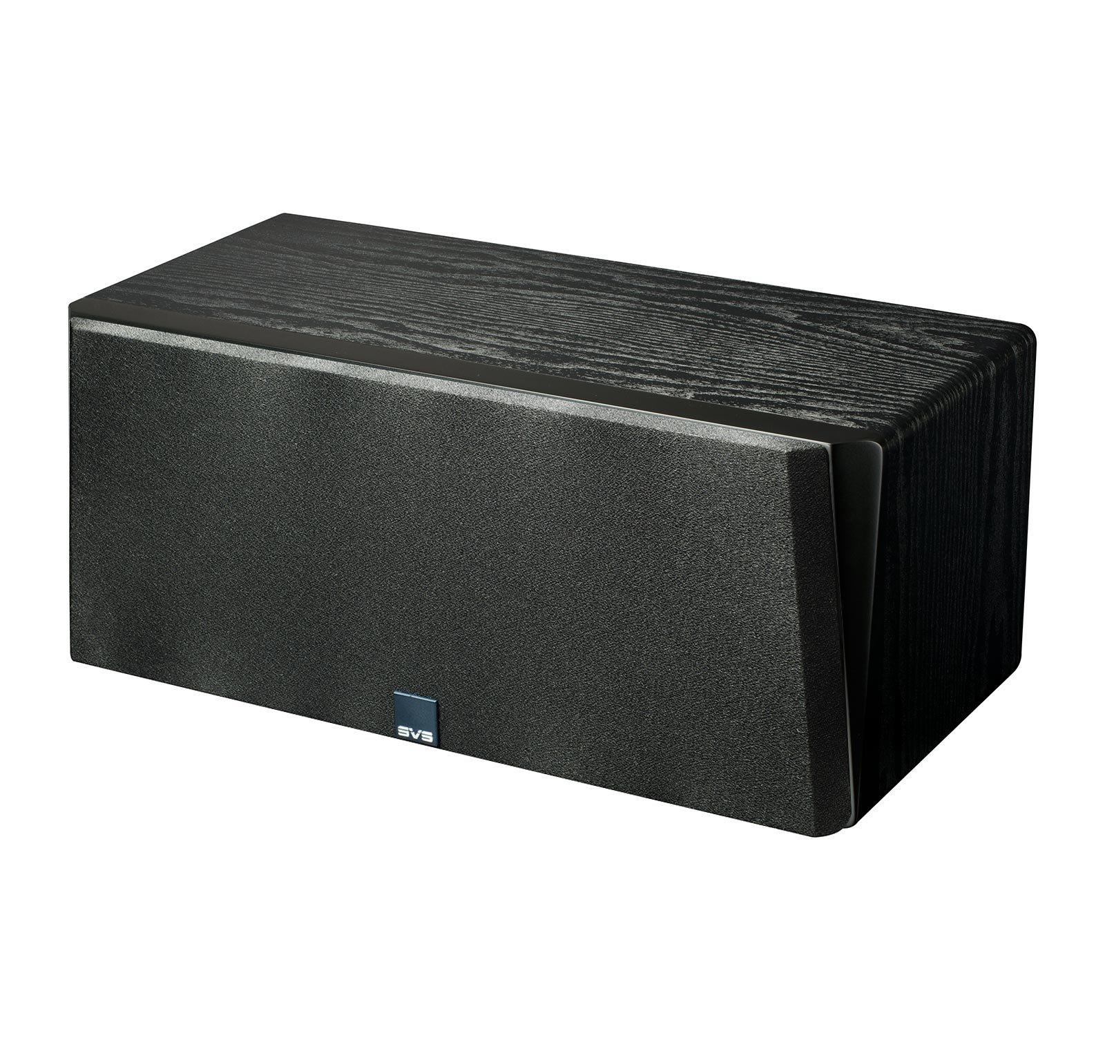 SVS Prime Center Speaker - Premium Black Ash by SVS