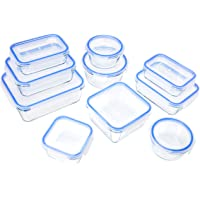 AmazonBasics Locking Glass Food Storage Container