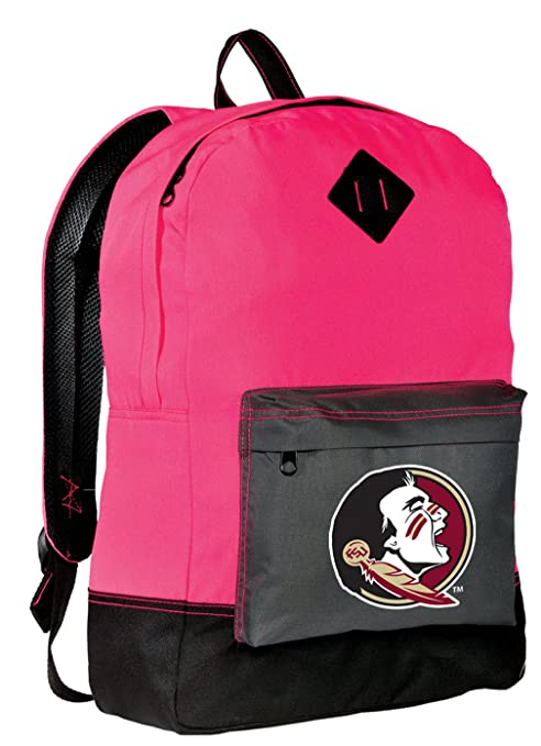 56d46863bcf3 Amazon.com   Broad Bay FSU Backpack CLASSIC STYLE Florida State ...