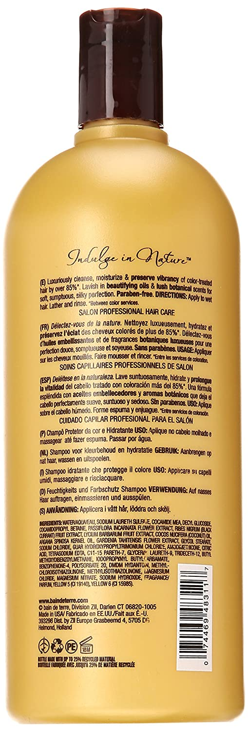 Amazon.com : Bain de Terre Color Preserving Conditioner, Passion Flower, 33.80-Ounce : Standard Hair Conditioners : Beauty