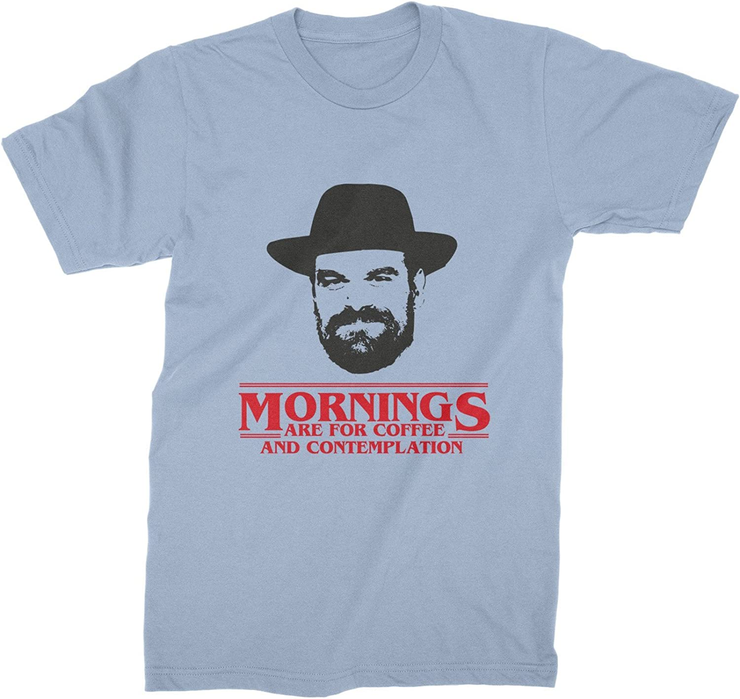 Mornings Are For Coffee And Contemplation Shirt Chief Hopper Quote T Shirt Jim Hopper Tee