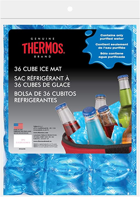 Thermos Reusable Ice Mat Food Saver, 36-Cube