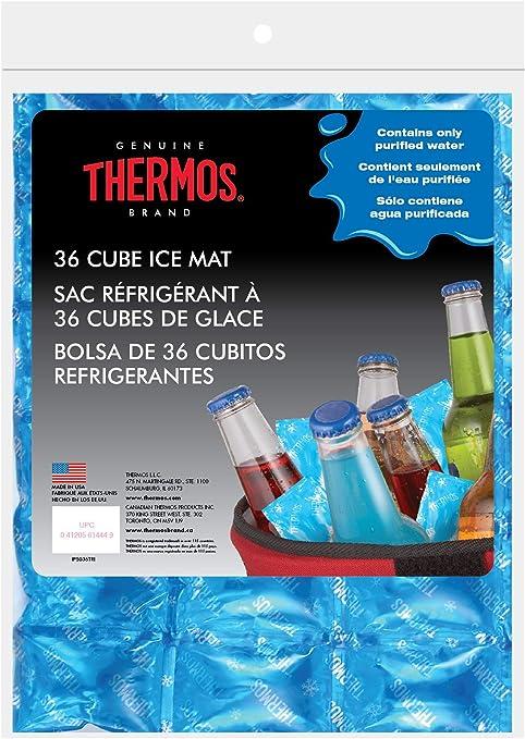 Thermos Reusable Ice Mat Food Saver, 36-Cube