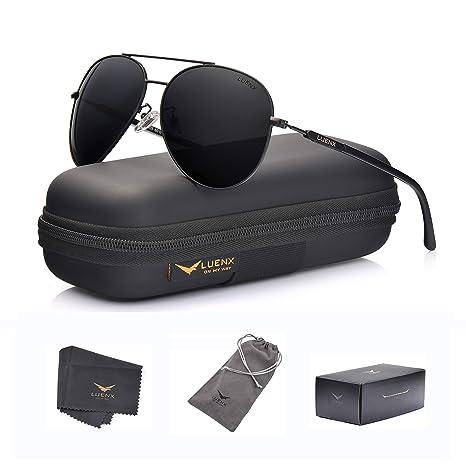 Uomo Donna Aviator Occhiali Da Polarizzati 400 Sole Per Uv Luenx CEQrxoeWBd