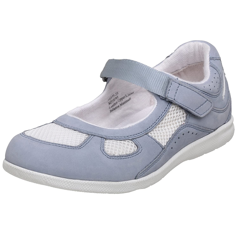 Drew Shoe Women's Delite B001ATD04S 8.5 XW US|Sky Blue/White