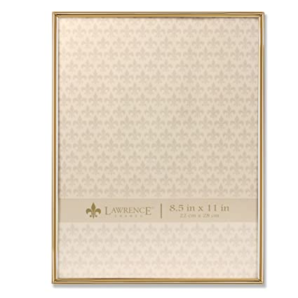 Amazon.com - Lawrence Frames 8.5x11 Simply Gold Metal Picture Frame -