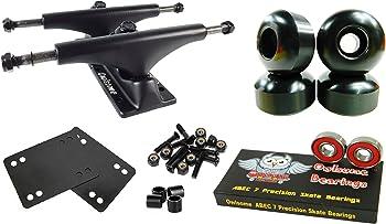 Owlsome 5.0 Black Aluminum Skateboard Trucks