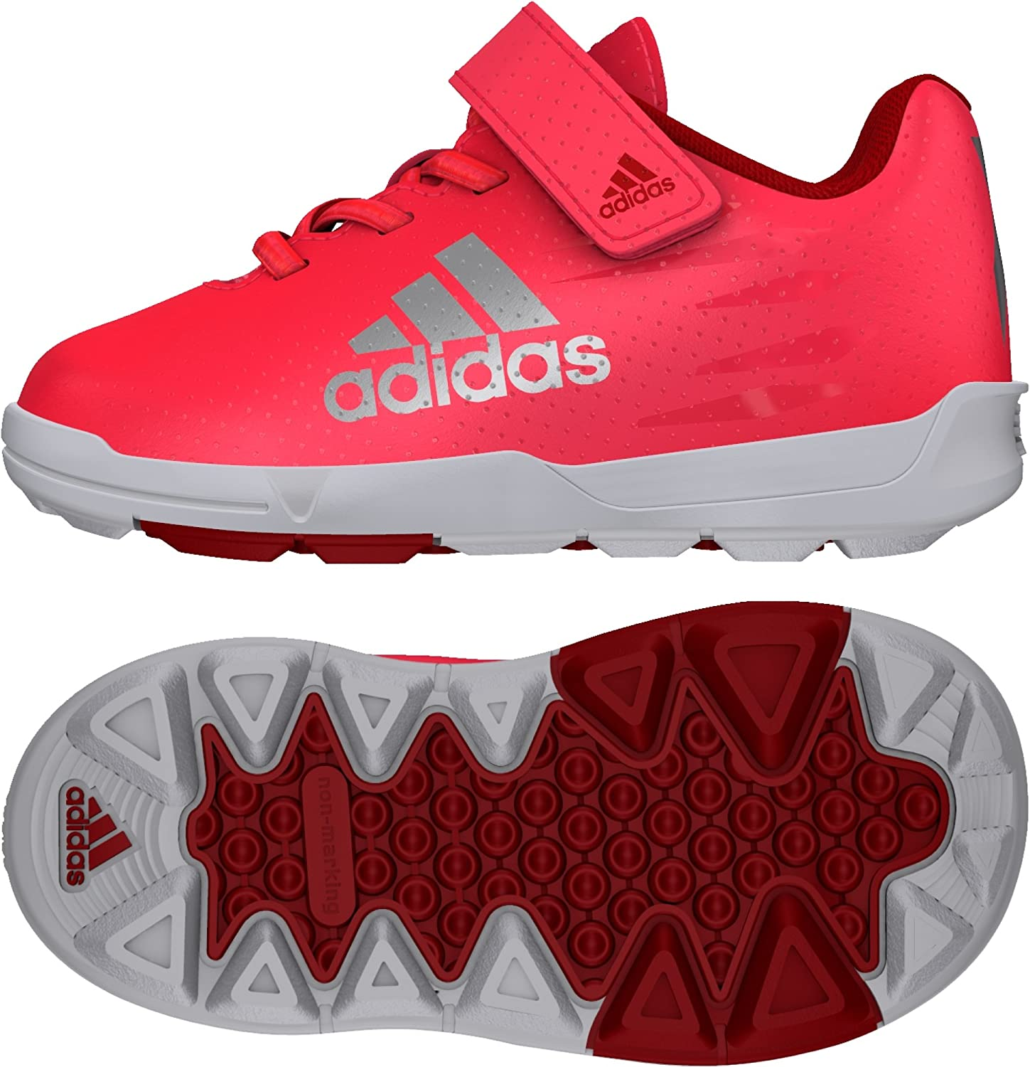 adidas FB X Infant, Chaussures de Football Mixte Bébé, Rojo