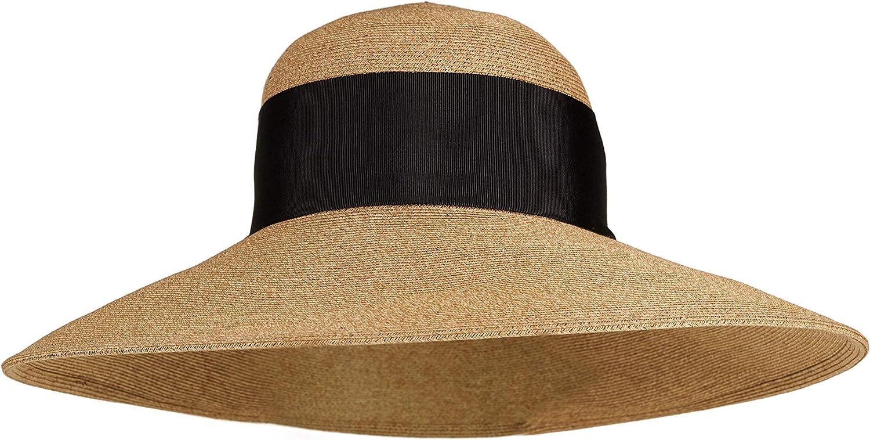 LOEVENICH - Sombrero clásico de Estilo milanés para Mujer