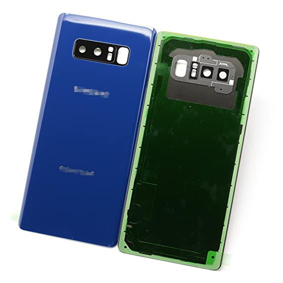 hot sale online fdbfe 5be8a New Maygadget For Samsung Galaxy Note 8 Note8 (All Carriers) Rear Panel  Back Glass/ Back Cover Housing Replacement W/ Waterproof Adhesive,Rear  Camera ...