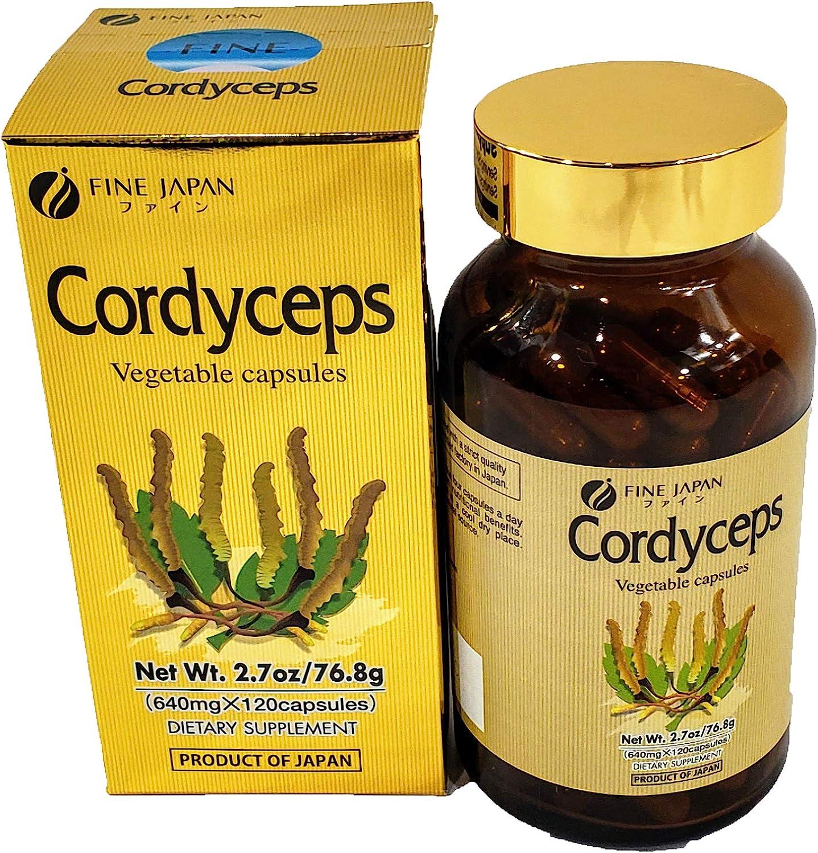 Fine Japan Cordyceps – 120 capsules