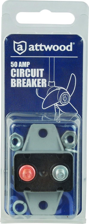 Attwood 50 Amp Circuit Breaker Complete Wiring Diagrams Diagram Gfci Amazon Com 7623 7 Rh Hot