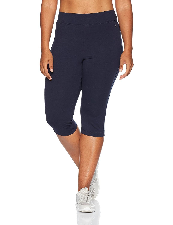 Danskin womens plus-size Plus Size Capri Legging Danskin Women' s Active 2096