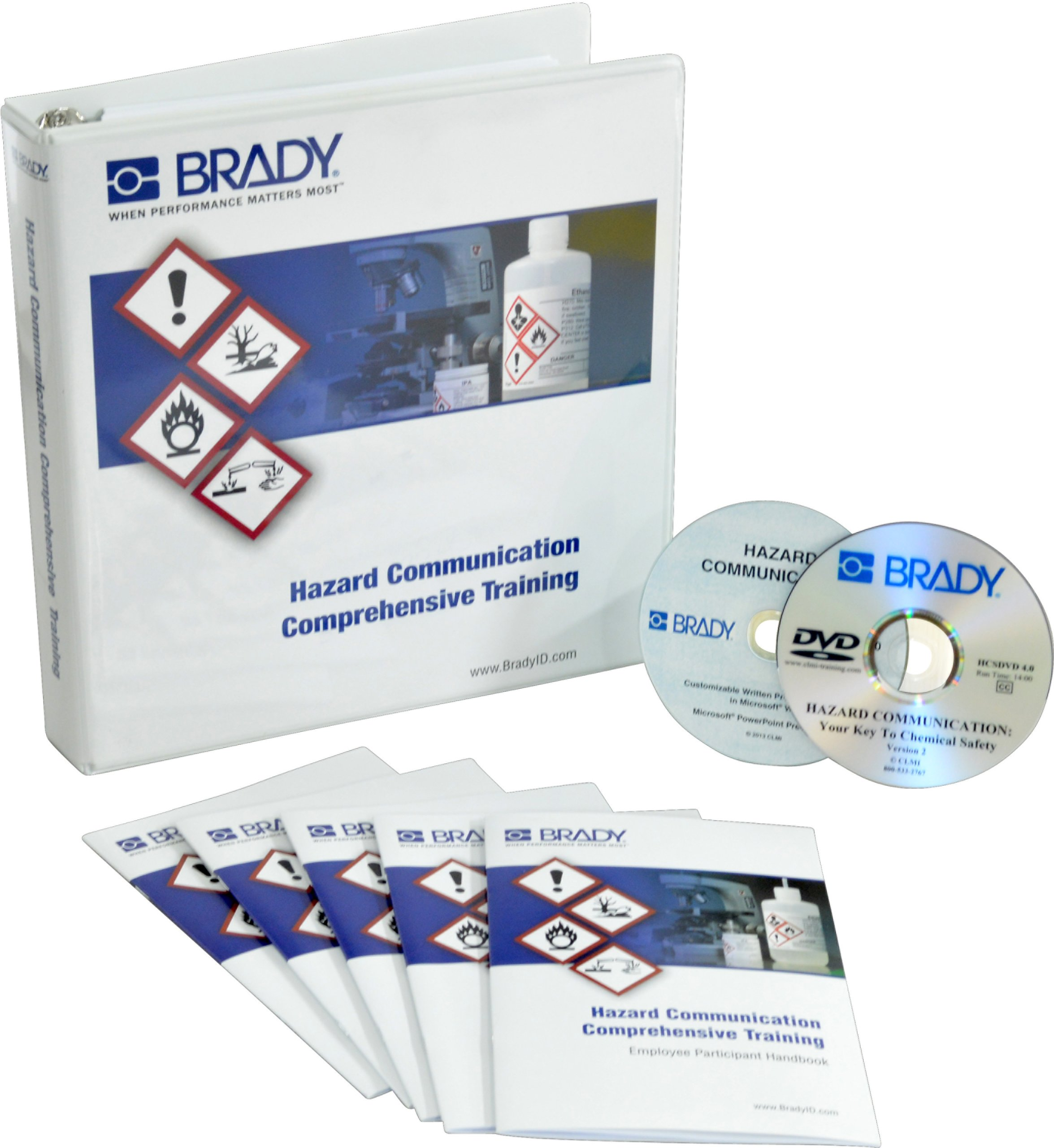 Brady 132457 Hazard Communication Full Training Program Kit