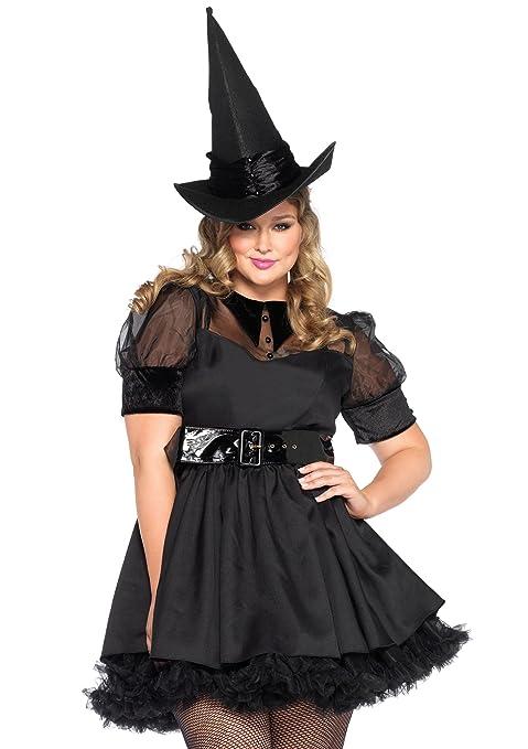 sc 1 st  Amazon.com & Amazon.com: Leg Avenue Womenu0027s 3 Piece Bewitching Witch: Clothing
