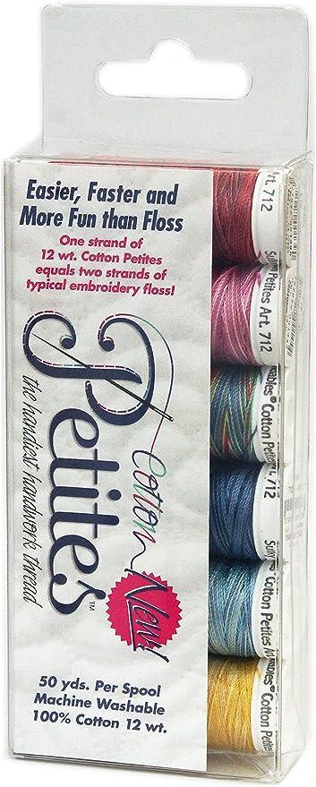 Sulky Petites Slimline Blendables Assortment-12Wt Cotton