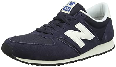 New Balance Unisex Adults U420v1 Trainers Blue Blue/White 12.5 UK