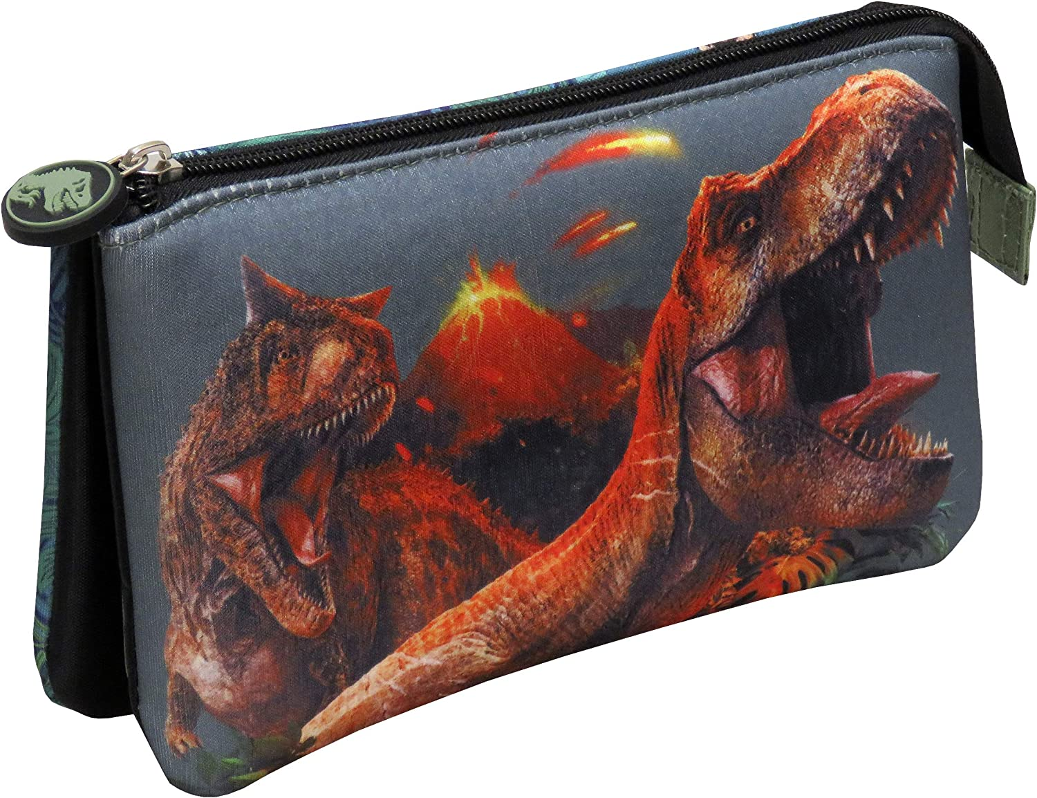 CYP BRANDS Jurassic World PT-33-JW Portatodo Triple con 5 Compartimentos, Rojo: Amazon.es: Equipaje