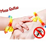 Rainbow Weaved Pokemon Mosquito Repellent Bracelets With Pikachu Charms DEET FREE Wristbands Pack Of 5 By MoZZ QuitZZ