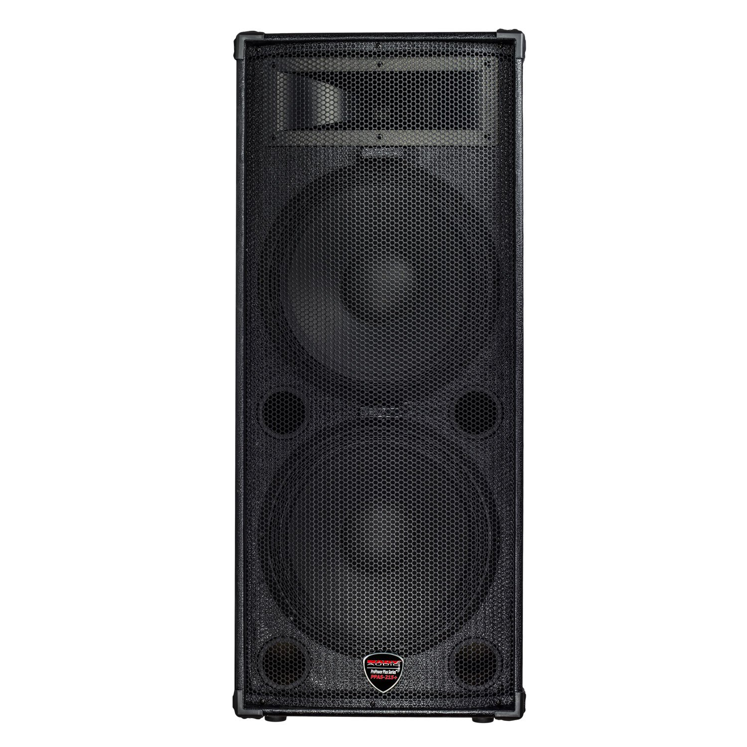 Nady PPAS-215+ / Full Range 2-Way Powered PA speaker / 200W class AB amp / 2 x 15'' woofers/Tolex covered with carrying handles