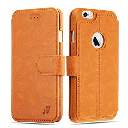 finest selection 8904c d2252 Techstudio™ Leather Flip Cover Wallet Case Cover for iPhone 6 iPhone 6S