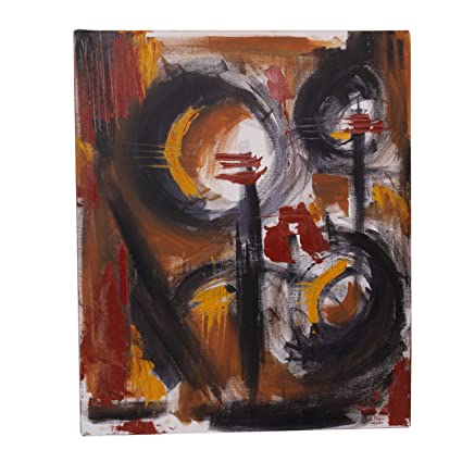 Uma Decors Abstract Oil Pastel Painting Canvas 51 5 Cm X 1