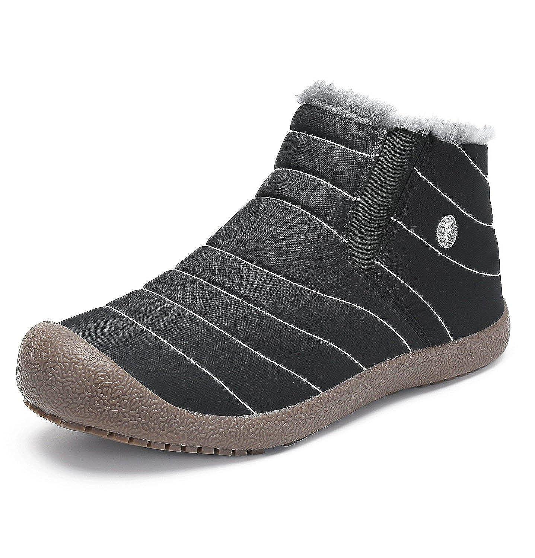 Maybest Unisex Spring Warm Walking Snow Boots Shoes Slip On Horizon Low Waterproof Outdoor Trekking Hiking Lightweight for Women Men