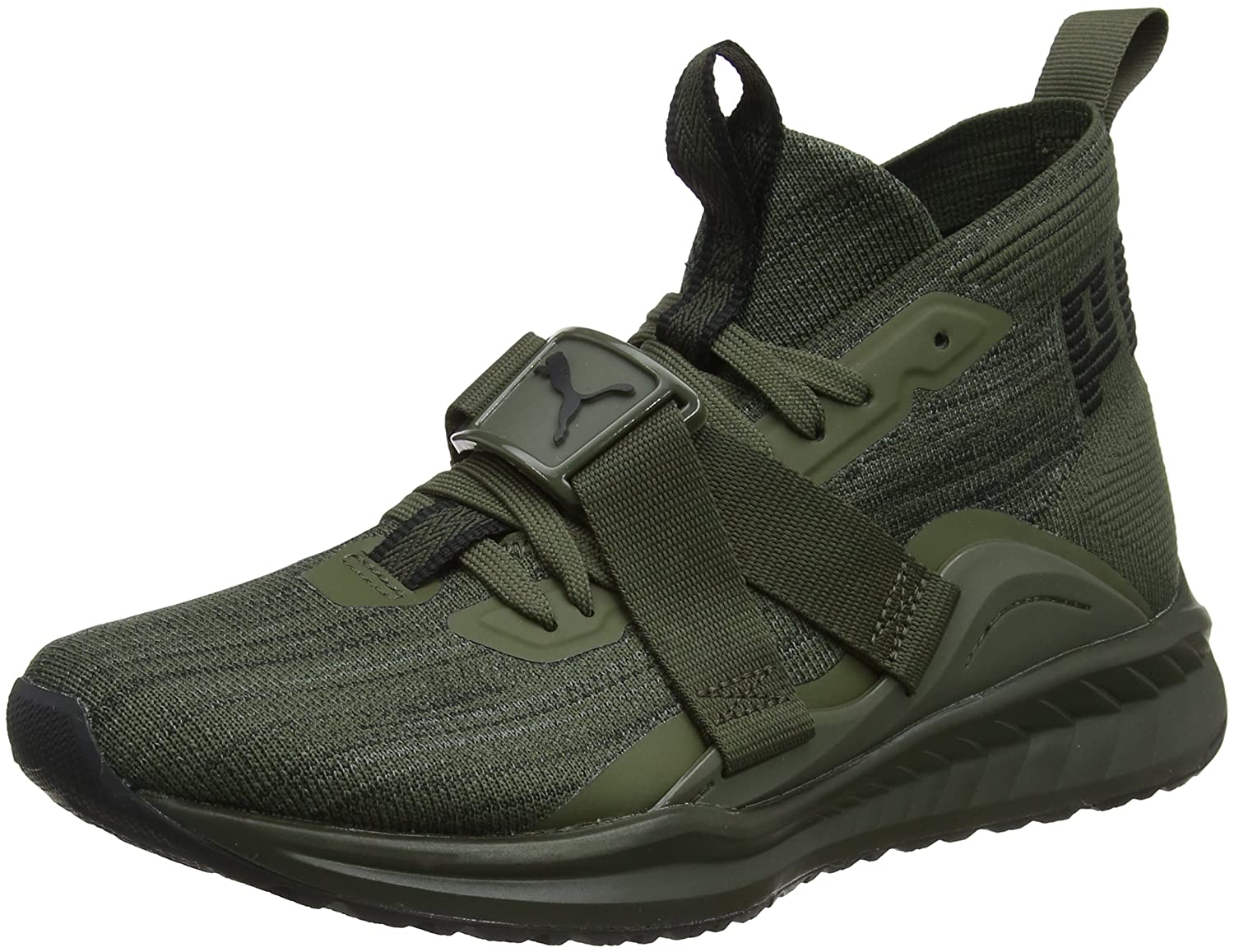 Braun (Forest Night-puma schwarz-quiet Shade) Puma Herren Ignite Evoknit 2 Cross-Trainer