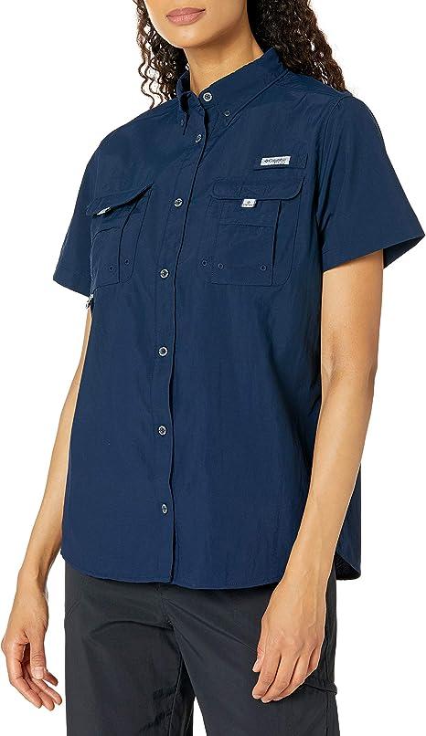 Columbia Bahama Short Sleeve Camisetas atléticas, Mujer