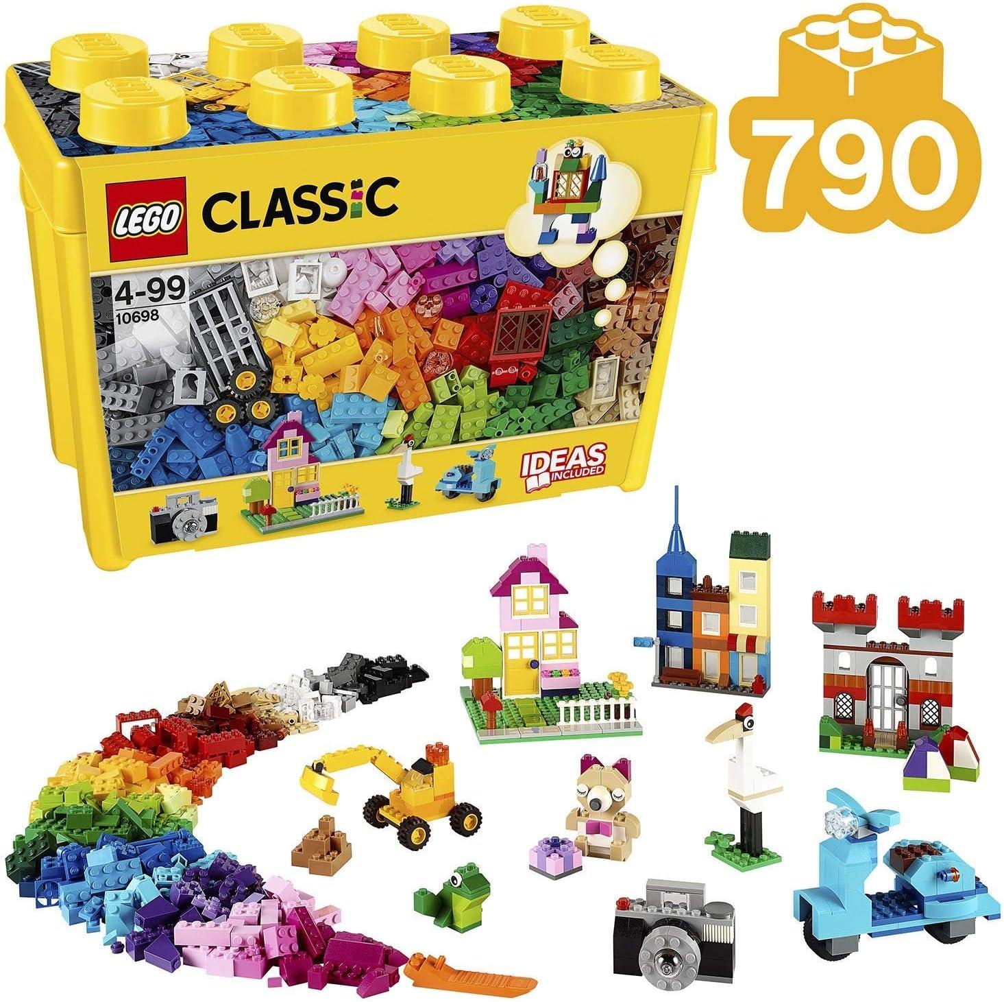 88 LEGO plaque 2x8 jaune 5 pièces