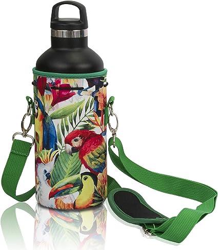 Premium Neoprene Portable Insulated Water bottle Holder B Water Bottle Carrier