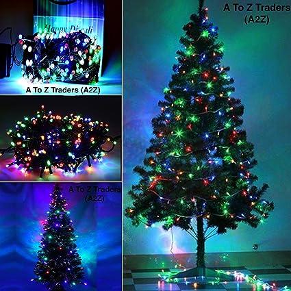 Christmas Tree In India.A2z 6feet Xmas Christmas Tree 45meter Multi Colour Led String Light For Home Christmas Xmas Decoration 6 Feet