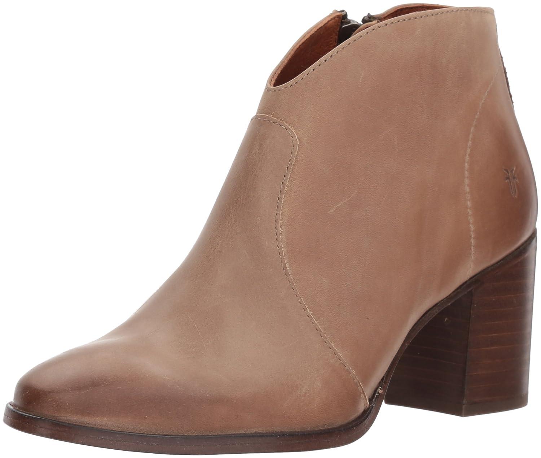 FRYE Women's Nora Zip Short Ankle Boot B0721CNFFT 10 B(M) US Dark Taupe
