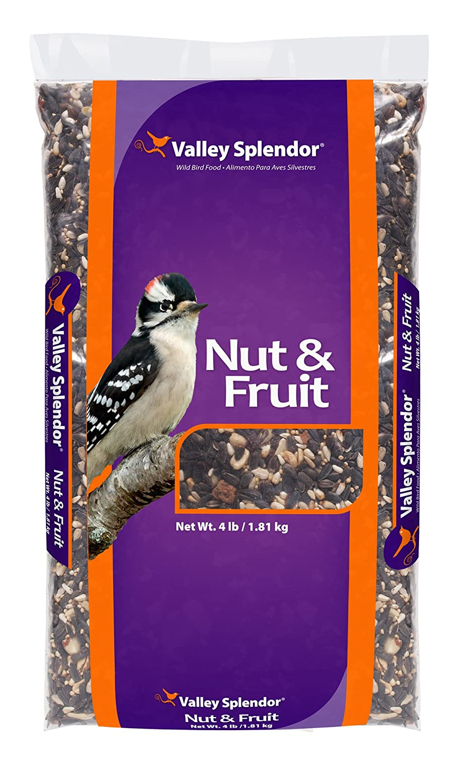 Red River Commodities 368 Valley Splendor Nut and Fruit Festival Bird Seed, 4 Pounds