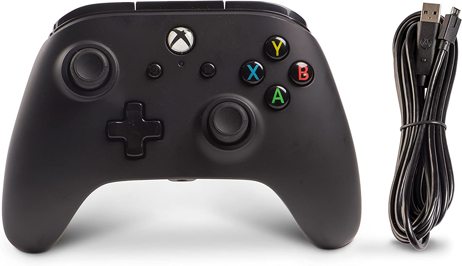 Amazon.com: PowerA Enhanced Wired Controller for Xbox One - Black ...