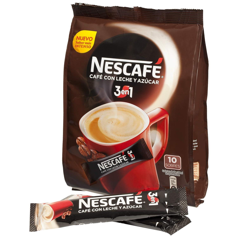 Nescafé 3En1 - Café Soluble Con Leche Y Azúcar - 180 g: Amazon.es: Alimentación y bebidas