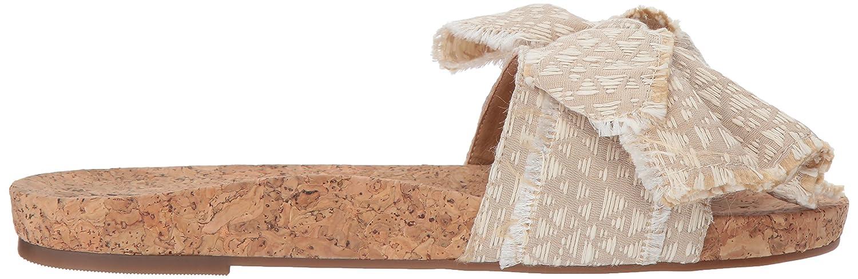 Lucky Brand Women's Floella Slide Sandal B077G642X3 8 B(M) US|Travertine