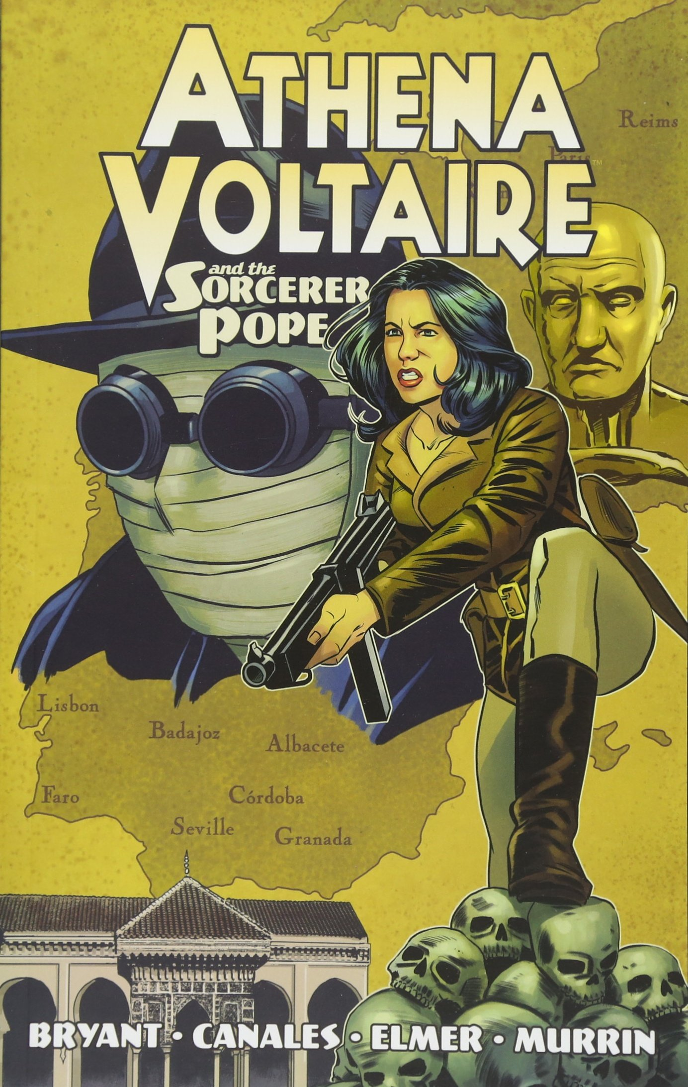 Athena Voltaire and the Sorcerer Pope: Steve Bryant, Ismael Canales, Emily  Elmer: 9781632293732: Amazon.com: Books