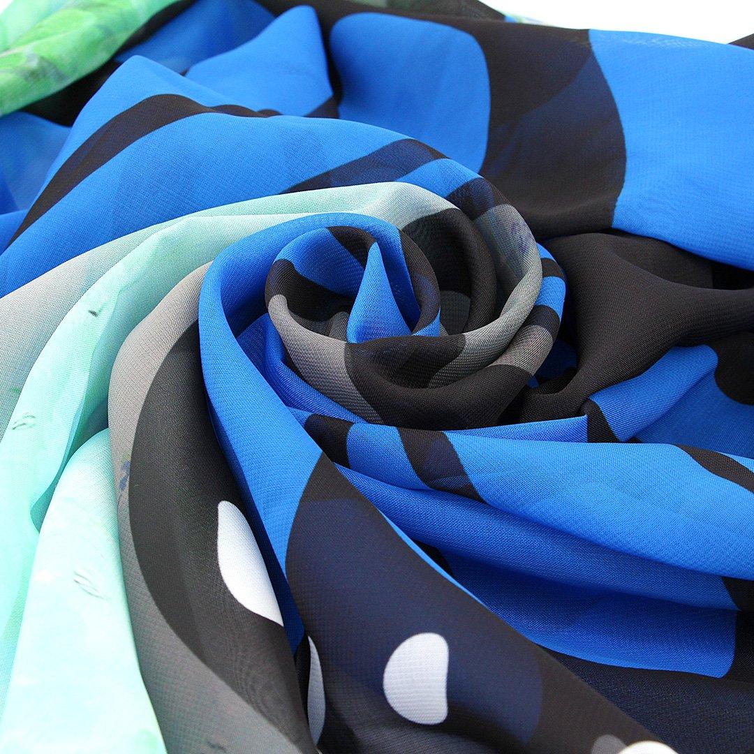 La moriposa Women Butterfly Printing Beach Towels Cover Up Beachwear Shawl Cape