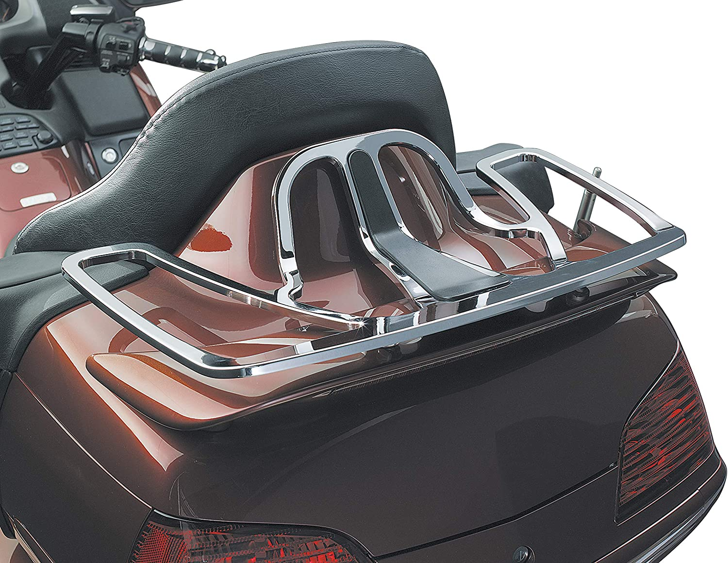 Tour Trunk Luggage//Storage Rack for 2001-19 Honda Gold Wing GL1800 Motorcycles Kuryakyn 7151 Motorcycle Accessory Chrome