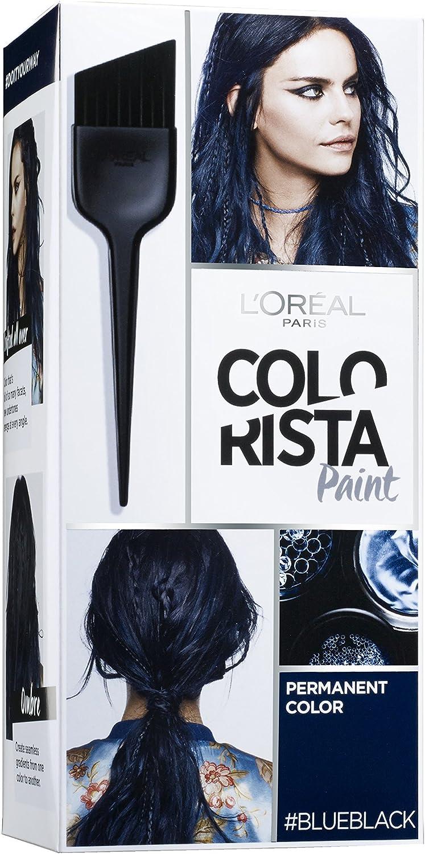 colorista Paint color permanente para cabello azul/negro