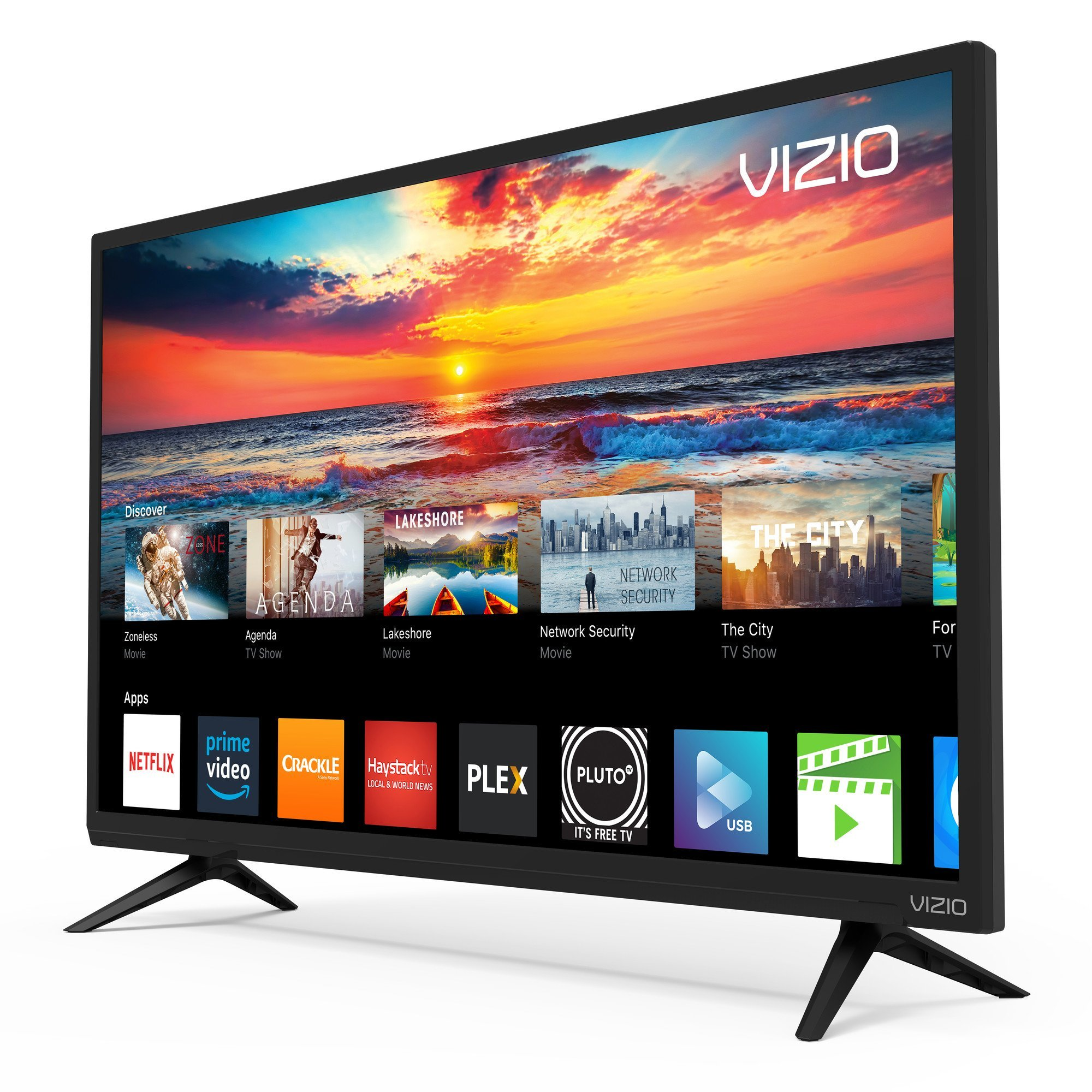 VIZIO SmartCast D-Series 32' Class FHD (1080P) Smart Full-Array LED TV D32f-F1 (Renewed) by VIZIO (Image #9)