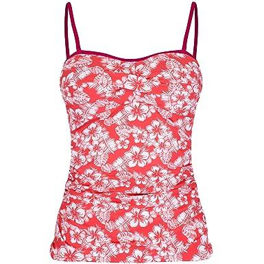 6b009409b1a58 Regatta Great Outdoors Womens/Ladies Aceana Tankini Top (18) (Deep Sea  Coral): Amazon.co.uk: Clothing