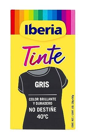 Iberia - Tinte Gris para ropa, 40°C: Amazon.es: Belleza