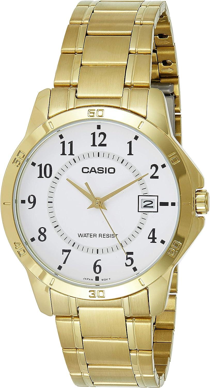 Montre Casio MTP V004G 7B: : Montres  8e21W