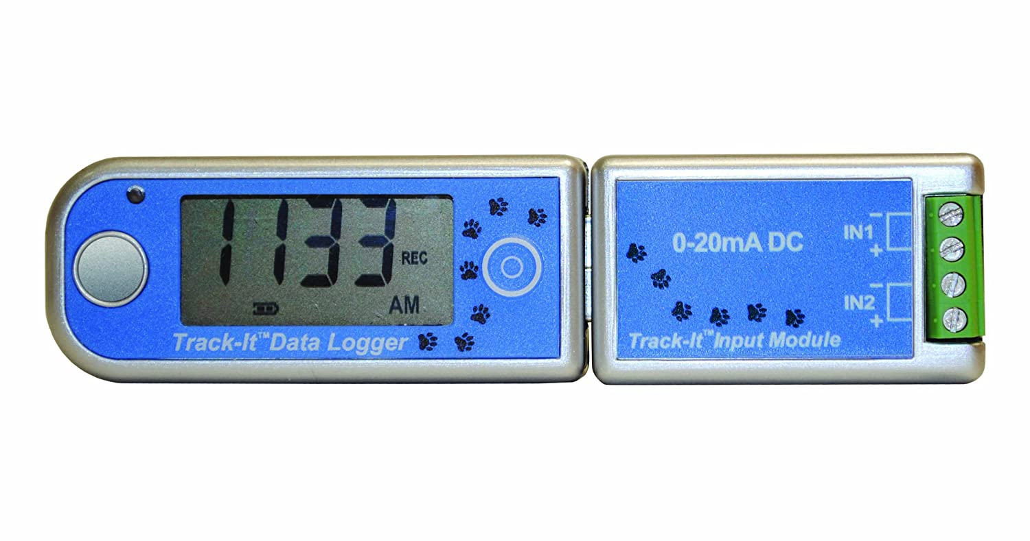 Image of Data Loggers Monarch Analog 20mA Track-It LB Logger with Display, DC Module and Long Life Battery