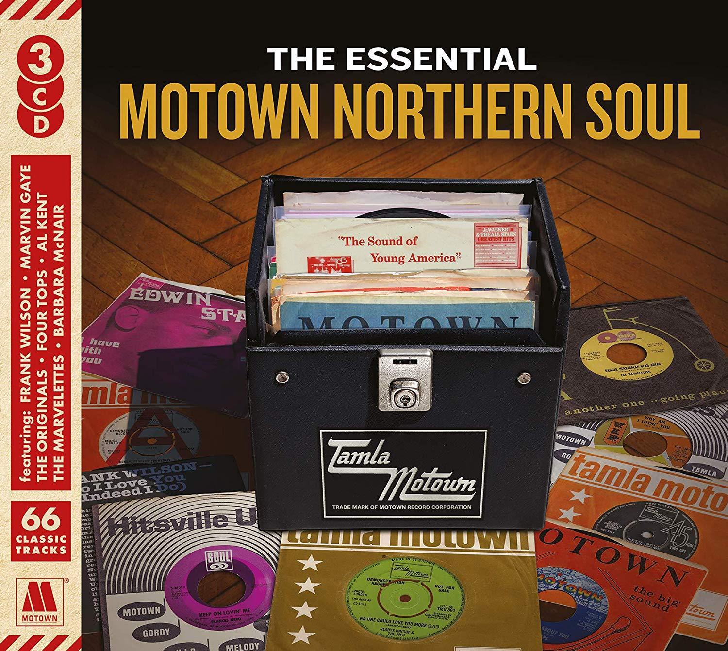 CD : VARIOUS ARTISTS - Essential Motown Northern Soul /  Various (United Kingdom - Import)