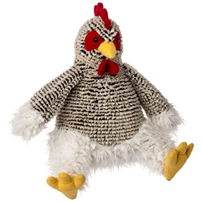 Mary Meyer Fab Fuzz Chicken Plush Toy: Toys & Games