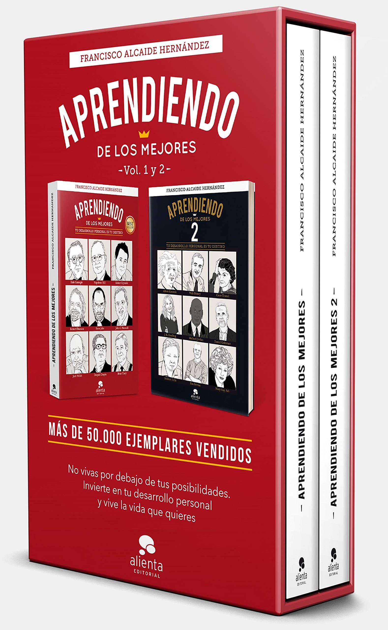 Estuche Aprendiendo de los mejores 1 y 2: Francisco Alcaide ...